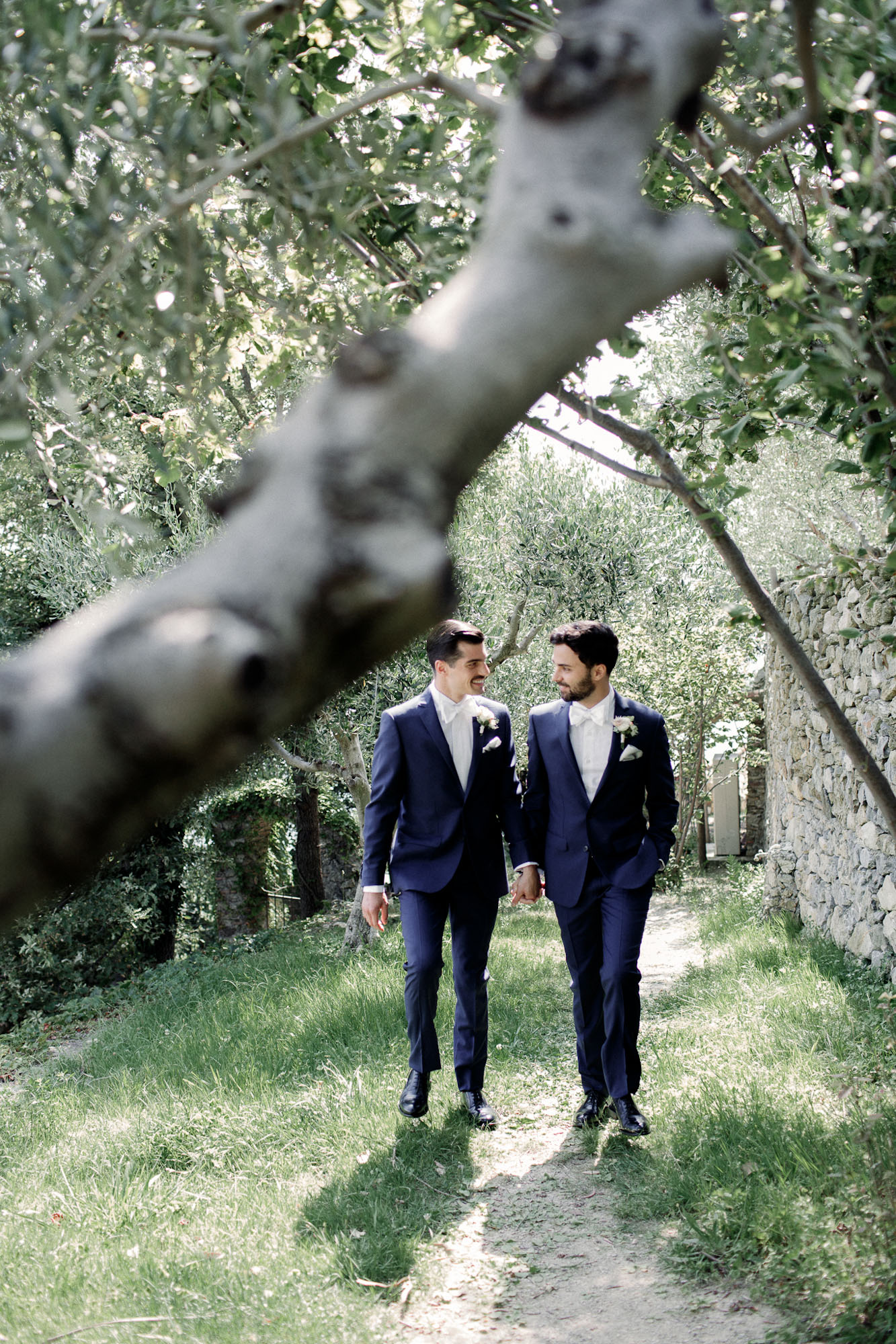 sposi uliveto - matrimonio Liguria - same sex wedding