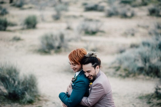 Elopement at Joshua Tree